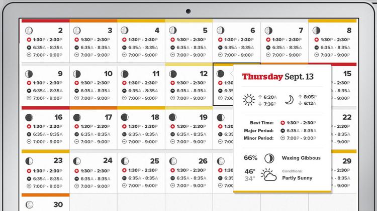 solunar-calendar